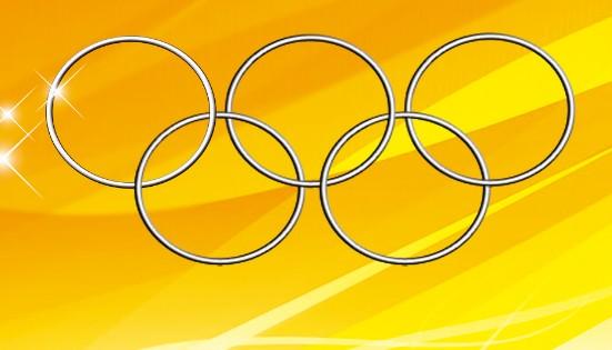 黑白奥运五环